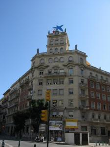 Здание Caixa de Pensions на Новой Рамбле, Таррагона, Испания