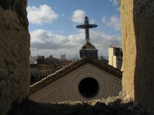 Вид на Королевскую площадь, Таррагона, Испания