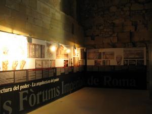 Экспозиция в башне претория, Таррагона, Испания