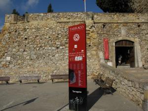 Вход на Археологический променад, Таррагона, Испания