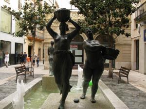Фонтан «Прачки», Реус, Испания