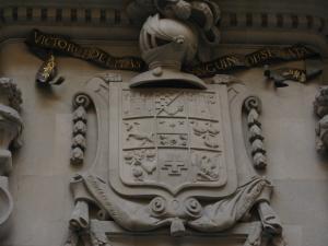 Фасад дворца Бофаруля, Реус, Испания