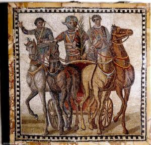 Квадрига в римском цирке