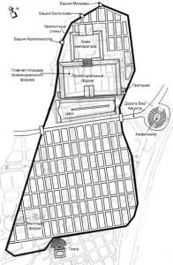 План римского Таррако, Таррагона, Испания