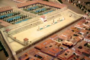 Цирк на макете римского Таррако, Испания